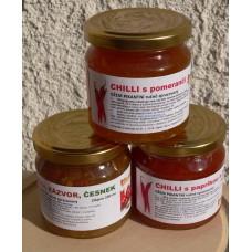 Chilli balíček 3 ks džemů od sklenicezdravi.cz