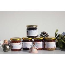 Kolekce 5 pečených čajů: rakytník, arónie, brusinky a šípky