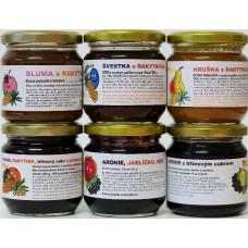 5 poctivých džemů od Sklenice zdraví