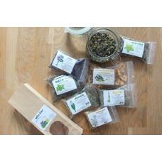 Namíchej si bylinkový čaj a ochutnej bylinky - kreativní balíček, vyrábíme s dětmi