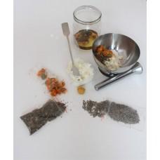 Vyrob si bylinkovou mast - kreativní balíček, vyrábíme s dětmi
