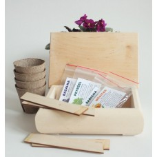 Zasej si bylinky - kreativní balíček, vyrábíme s dětmi