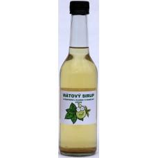 Mátový s fruktózou a sladidly z rostliny stévie - 350 ml