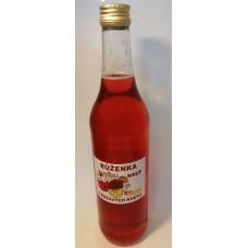 Růžový sirup s citróny, 500ml