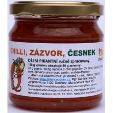 Chilli džem se zázvorem a česnekem, 200g