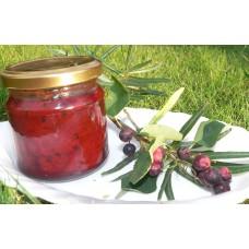 Borůvková s fruktózou a sladidly z rostliny stévie - 200 g
