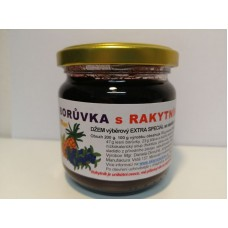 Borůvková s rakytníkem, fruktózou a sladidly z rostliny stévie - 200 g