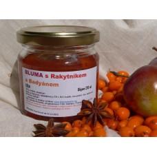 Bluma s Rakytníkem a badyánem rustikální - ovocná pomazánka s vysokým podílem ovoce 200 g