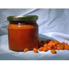 CHIA, jahody, rakytník s fruktózou a stévií - džem 200 ml