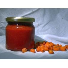 Jahoda s rakytníkem a třtinovým cukrem - 200 ml