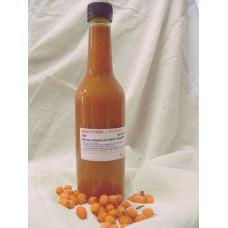Rakytník s fruktózou a sladidly z rostliny stévie - 350 ml