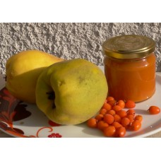 Kdoulová s rakytníkem jemný džem se stévií a fruktózou - 200 ml